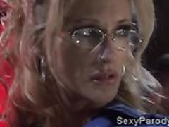 Jessica Drake and Kaylani Lei get in an Egyptian orgy