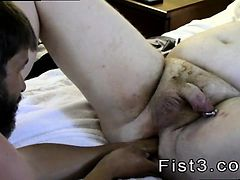 Gay sex  free Sky Works Brock's Hole with his Fist