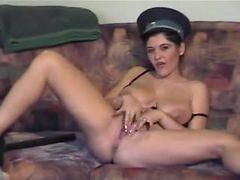 Gypsy cop woman