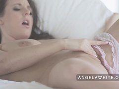 All Natural Big Tit Australian Angela White in Erotic...