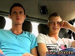 gay sex blowjob first time Justin and Mark pick up another