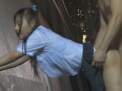 Hot Asian Babe In School Uniform Gets Drilled BY A Hard Cock
