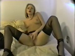 Fabulous Homemade clip with Solo, Blonde scenes