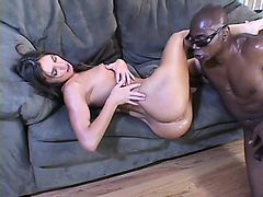 White beauty Naomi has no chances to escape rough fucking with BBC