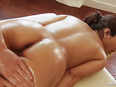 She almost fall a sleep during this massage