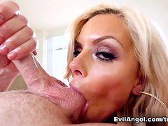 Fabulous pornstar Nina Elle in Horny MILF, POV sex clip