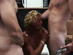 Gay tube video Blonde muscle surfer guy needs cash