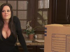 Insatiable Cougar Veronica Avluv Gags On Two Big Cocks In A Threesome