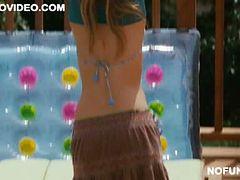 Horny Teens Spying on Sarah Roemer