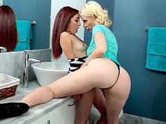 Sunny & Kiley Jay in Cute Dolce - MomsLickTeens