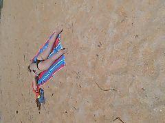 Candid Teen Nice Ass at the beach part 2