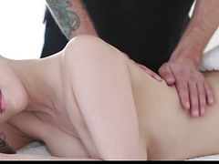 TeensLoveAnal threatening-fearsome Sexy Wife Arse Screwed During Massage